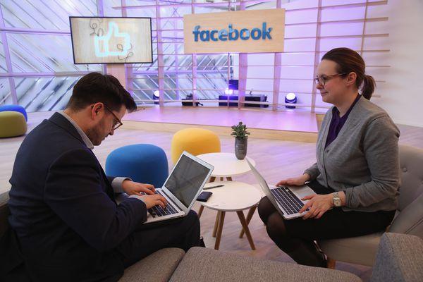 The Facebook Innovation Hub in Berlin.