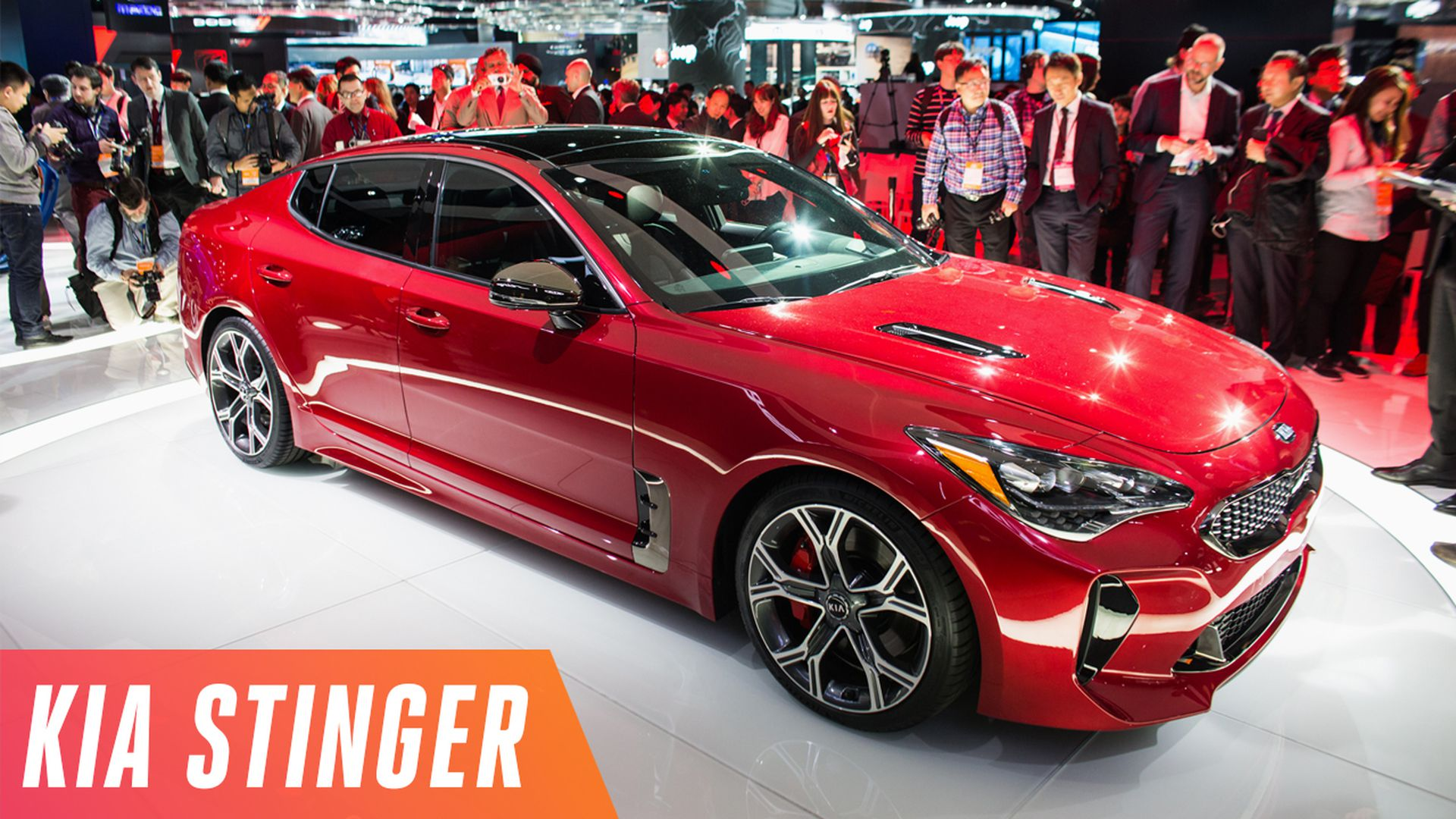sedan one sports stinger was american rburgring sport all as new for fastback finalists n of named car kia on three year the north finalist