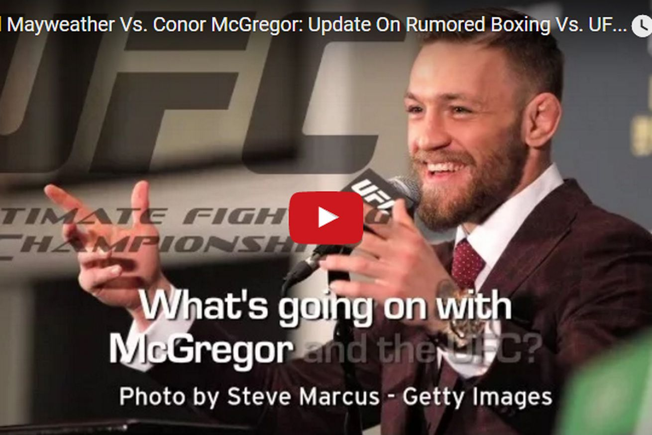 Floyd Mayweather vs Conor McGregor video update on rumored boxing vs UFC blockbuster fight