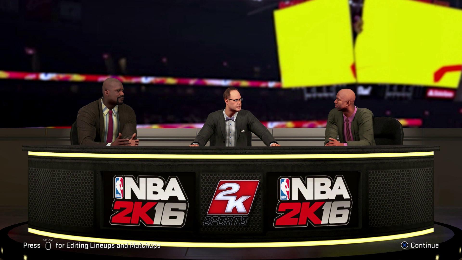 NBA 2K16's broadcast team gets bigger and a bit weirder