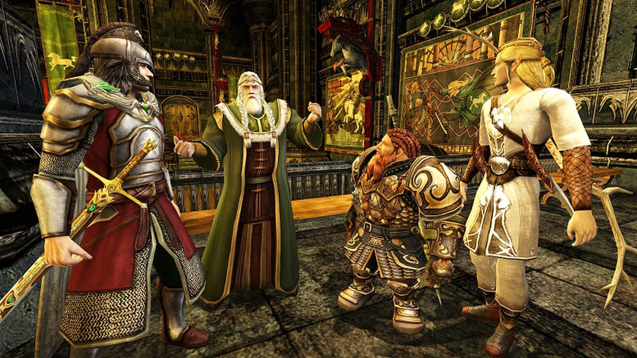 lord of the rings online dungeons