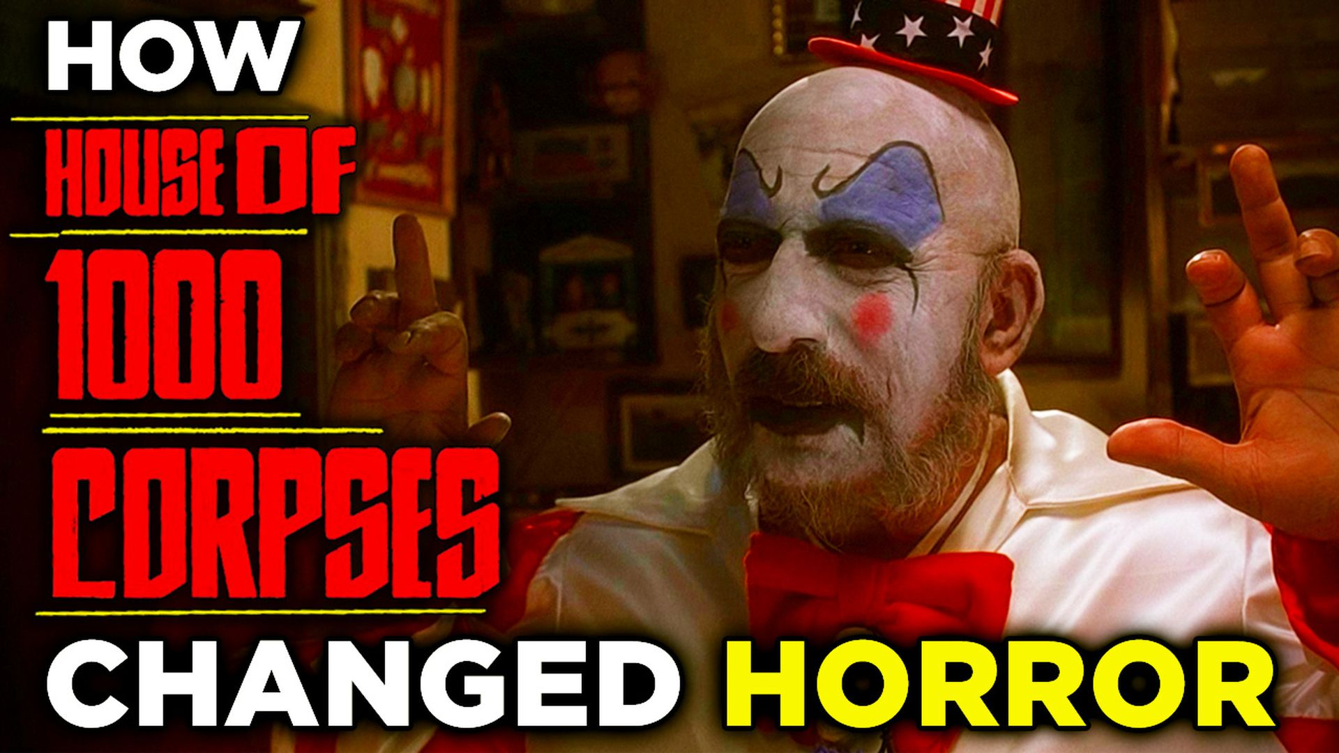 House Of 1000 Corpses Was The Resurrection Horror Needed After The