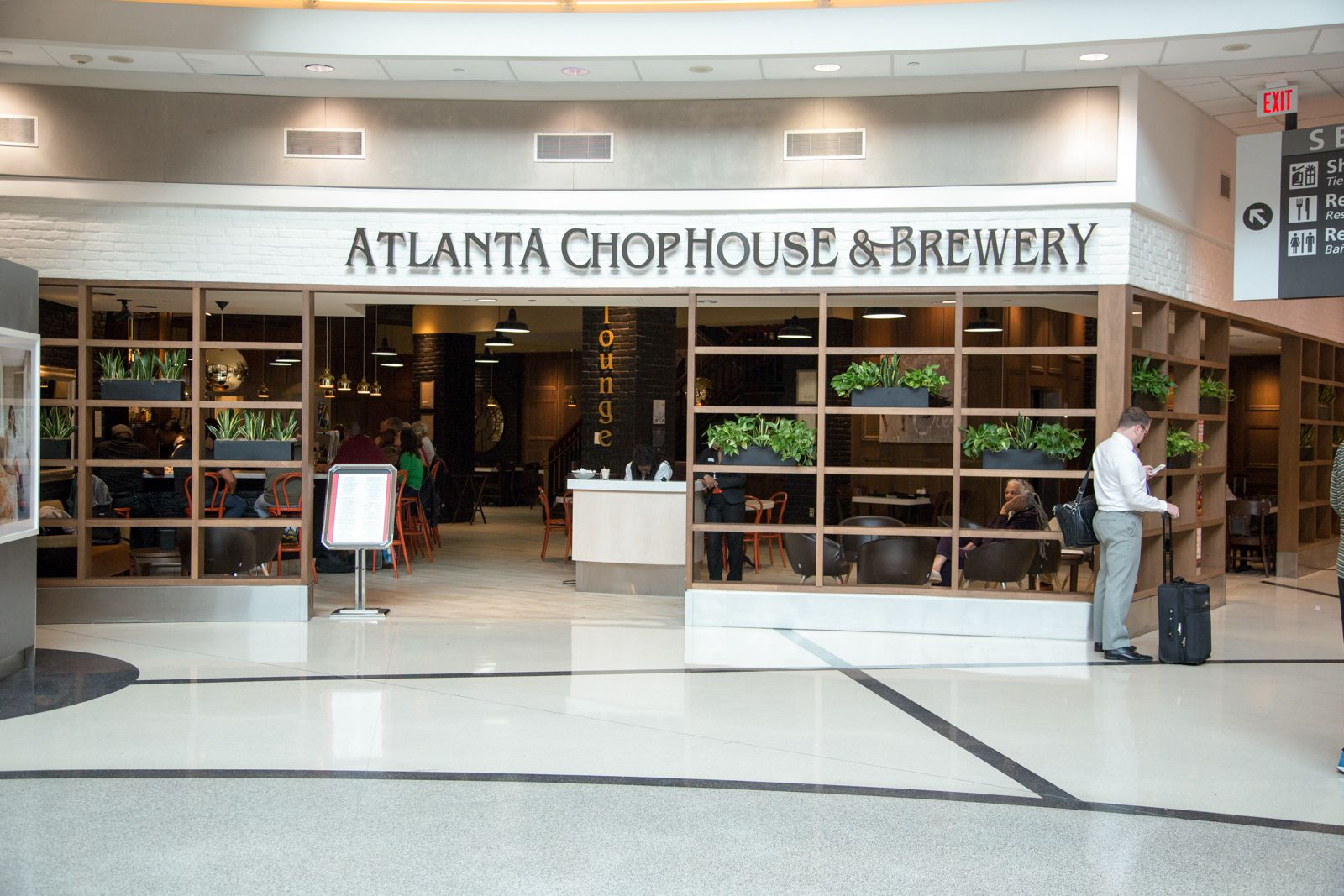 Where to eat at hartsfield jackson airport atl eater atlanta - Restaurant el ward porte maillot ...