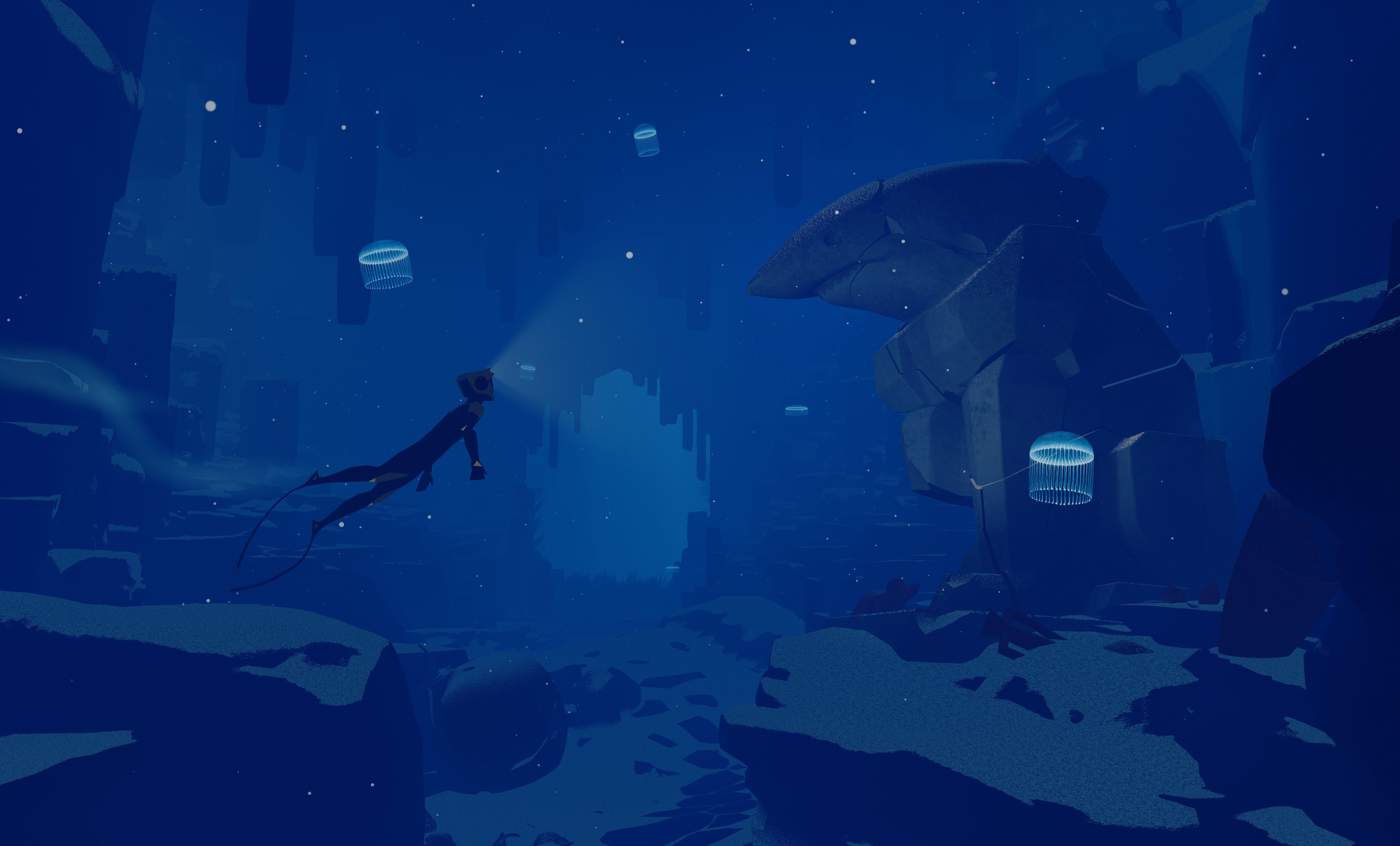 abzu is a beautiful aquatic wonderland polygon