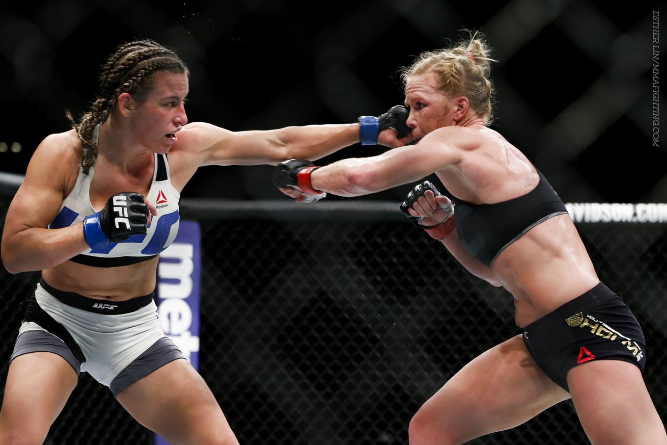community news, A rematch between Miesha Tate and Holly Holm was never on the table for UFC 200