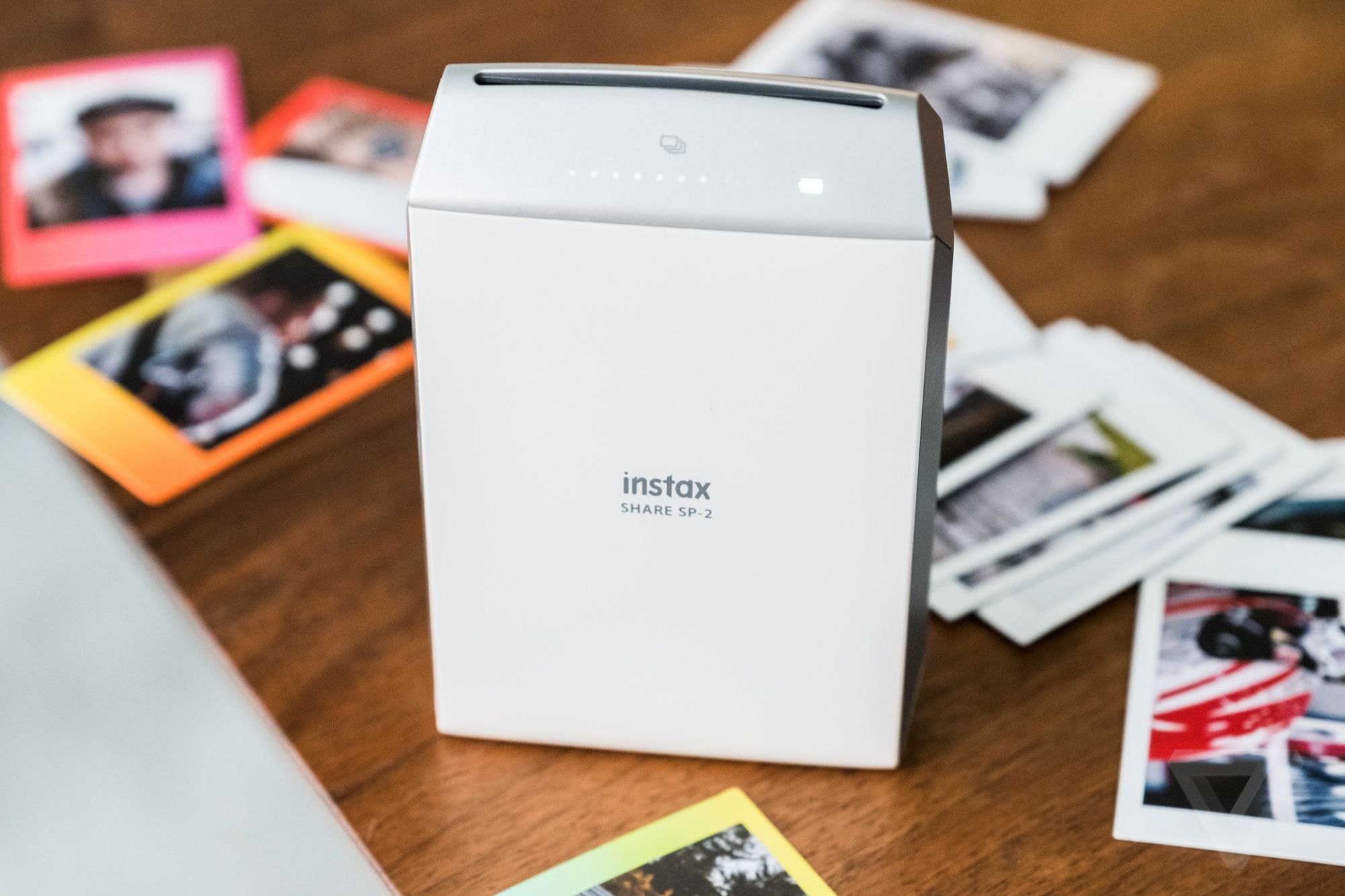 fujifilm s instant photo printer is finally out of its awkward phase the verge. Black Bedroom Furniture Sets. Home Design Ideas