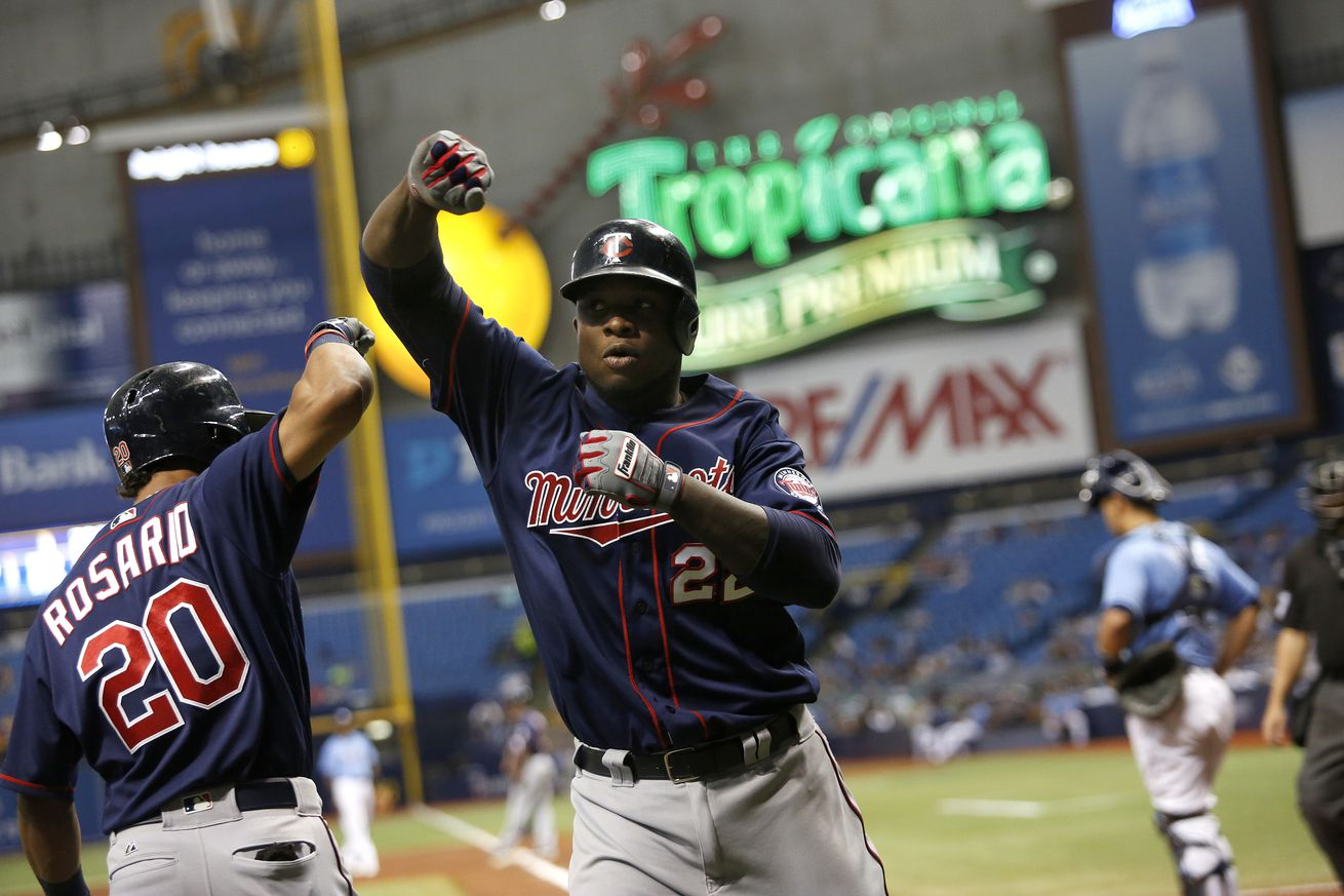 Twins' surging offense stalls in loss to Rays