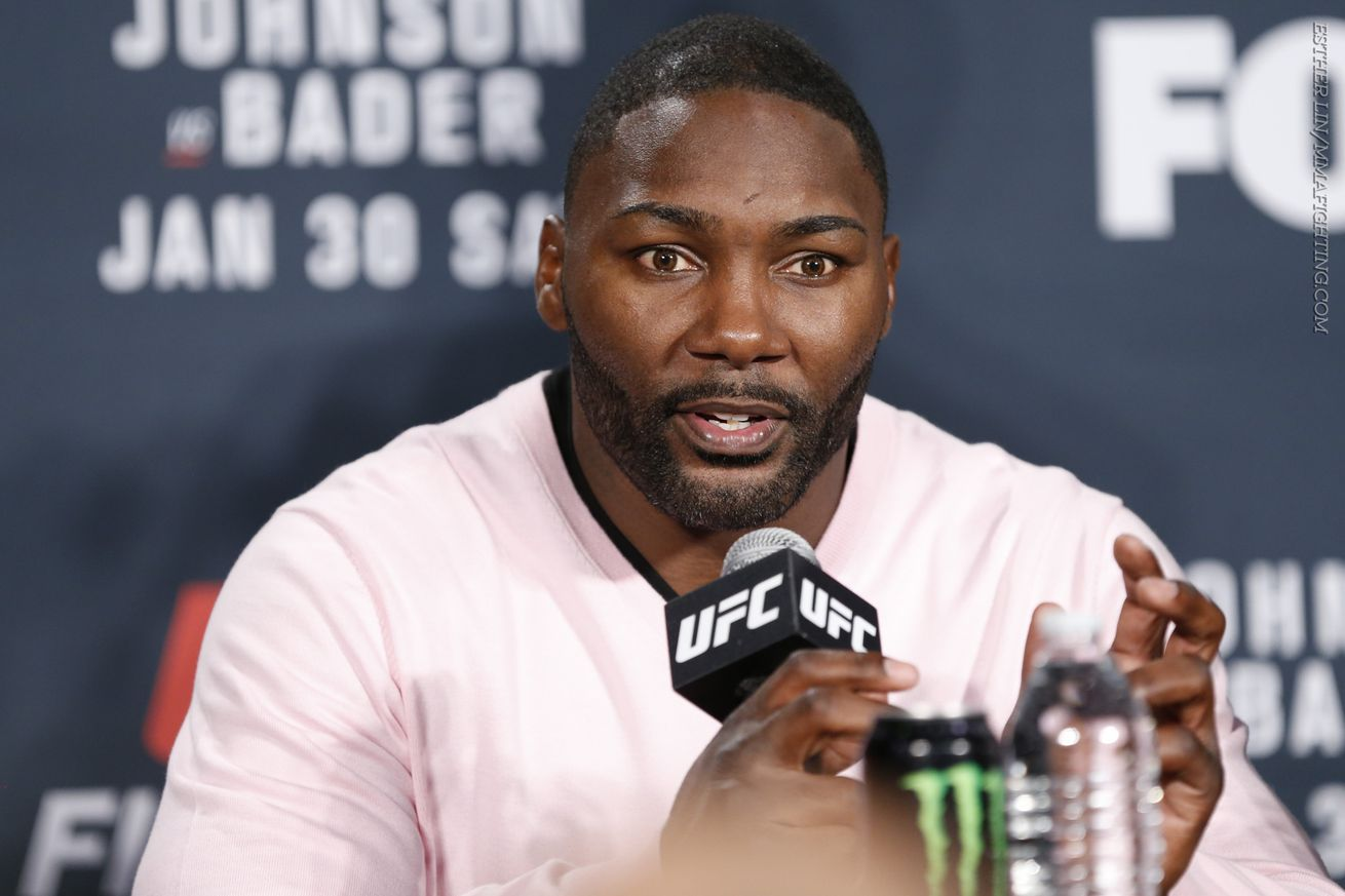community news, Anthony Johnson: I never accepted to fight Jon Jones at UFC 197