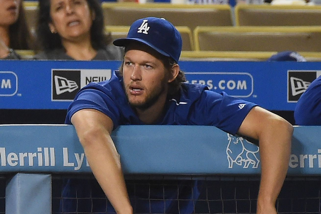 Kershaw plays catch, Dodgers hope for September return