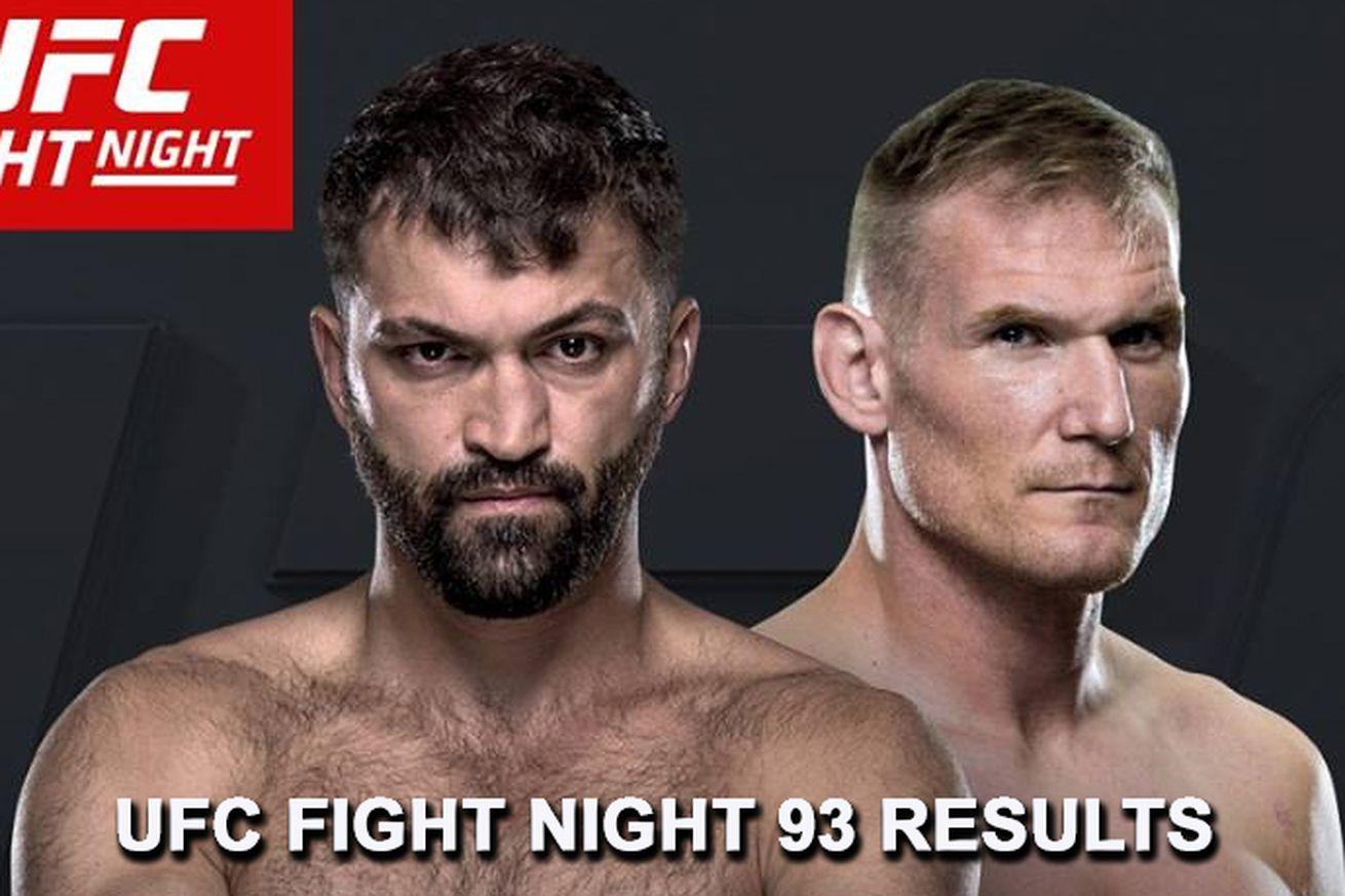 Ryan Bader knocked out Ilir Latifi at UFC Fight Night 93