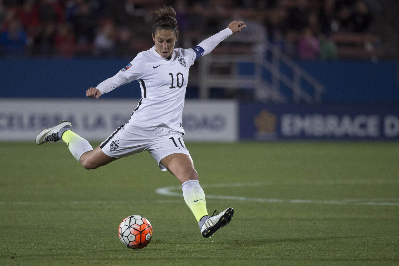 Carli Lloyd, USWNT Dominate Costa Rica 5-0 - On the Banks