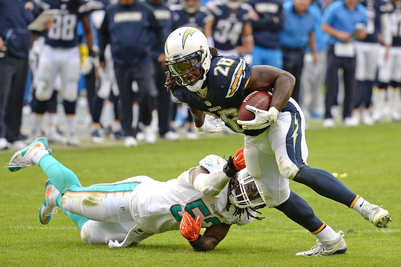 San Diego Chargers Place Rookie Rb Melvin Gordon On Ir