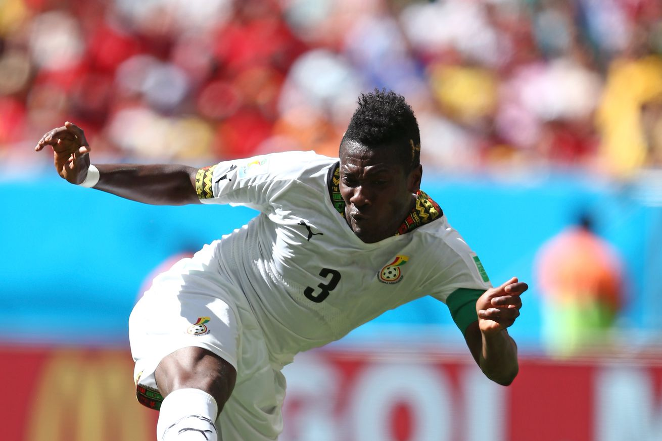 Asamoah Gyan has Reading medical ahead of season-long loan from Shanghai
