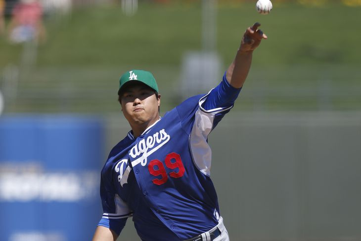 Ryu Hyun Jin Wallpaper Rick Scuteri-usa Today Sports