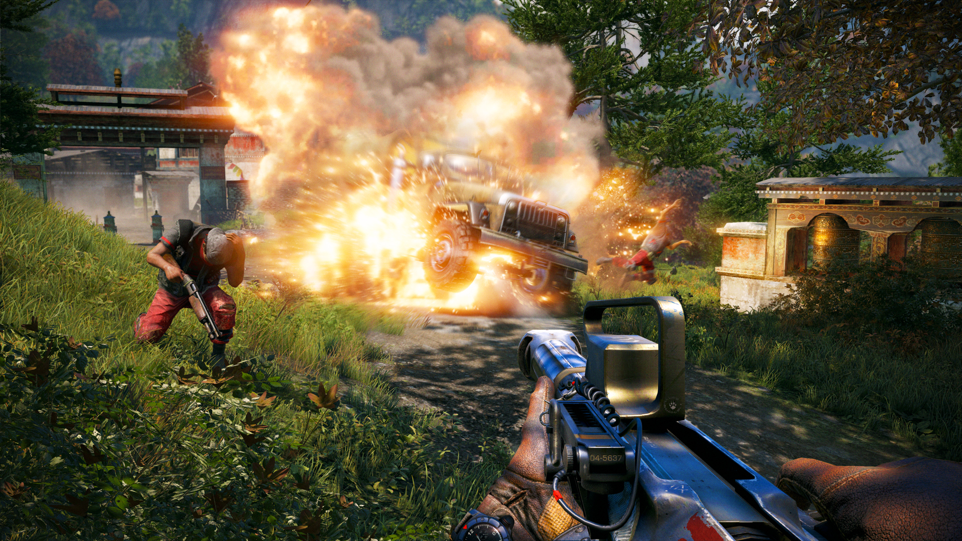 Far Cry 4 [v 1.8 + DLCs] (2014) PC | RePack от R.G. Games