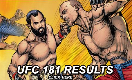 UFC 181 Results