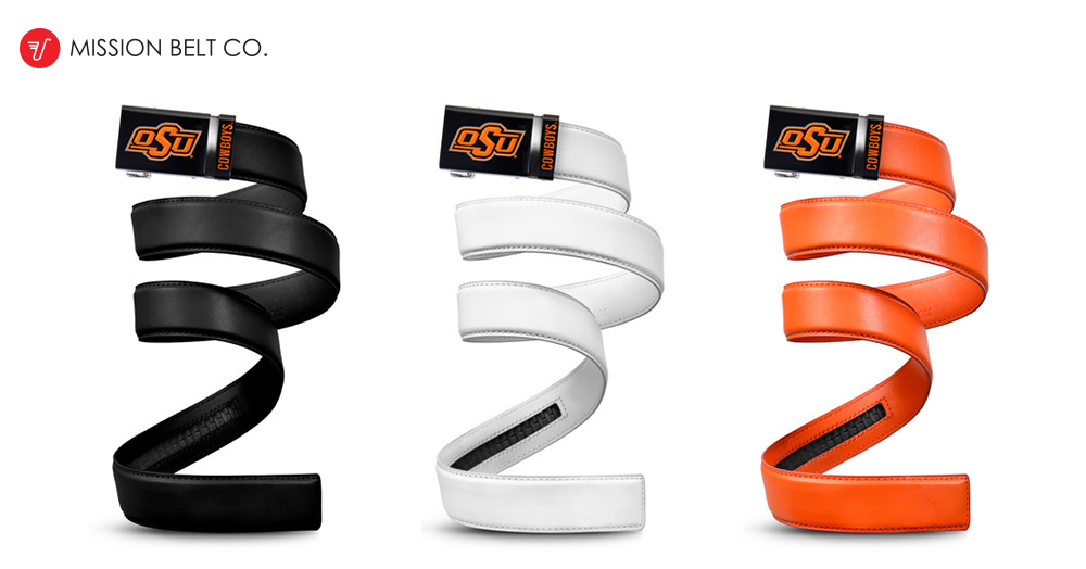 Oklahoma State Mission Belts