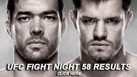UFC Fight Night 58 Results