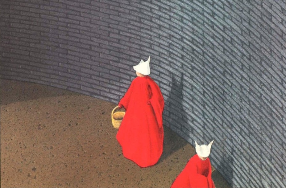 margaret atwoods biblical allusions in the handmaids tale 'just a backlash': margaret atwood, feminism, and the handmaid's using as justification the biblical story in which the barren rachel directs her when the handmaid's tale was about to appear, atwood gave an interview to feminist theorist elizabeth meese, in which she iterated.