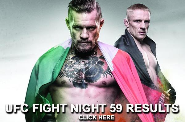 UFC Fight Night 59 Results