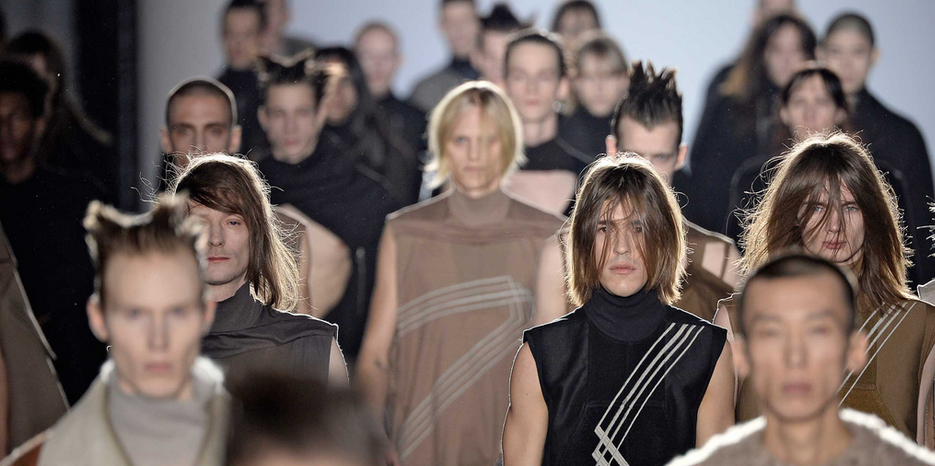 Why Fashion Designer Rick Owens Shocked His Audience With
