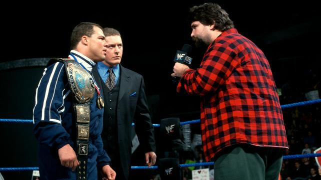 Would You Rather Mick Foley Or William Regal Cageside