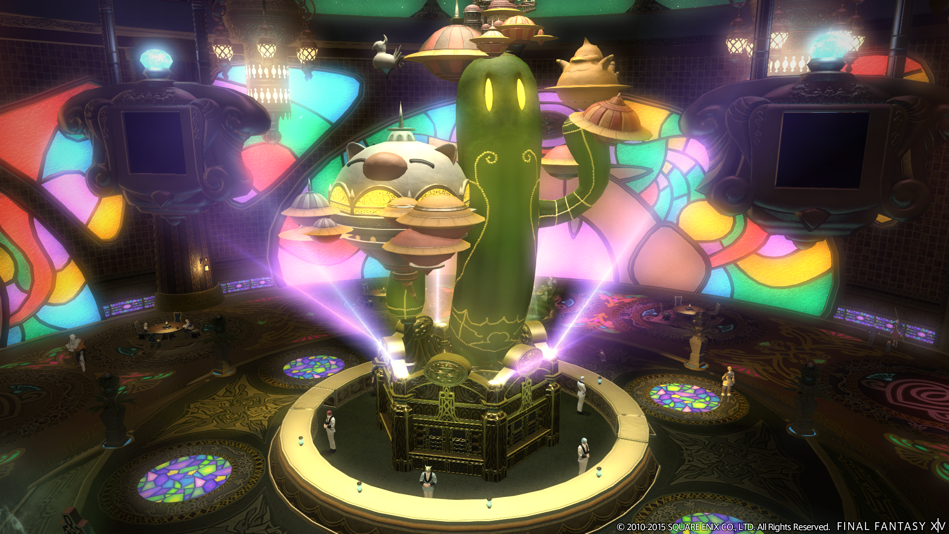 The best part of Final Fantasy VII is now in FFXIV | The Verge