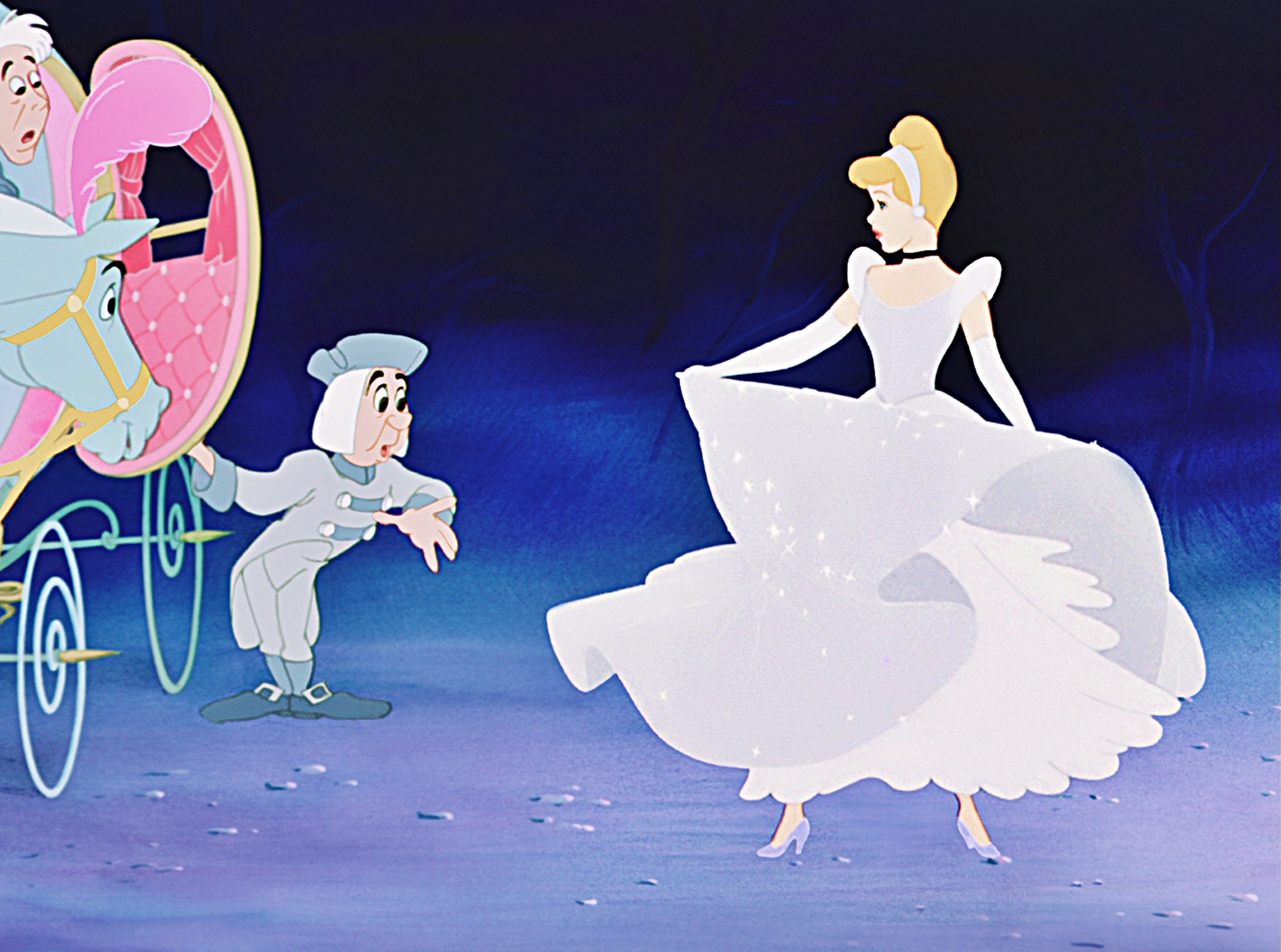 The Animated Cinderella's
