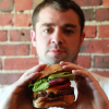 Matt Baker burger week portrait