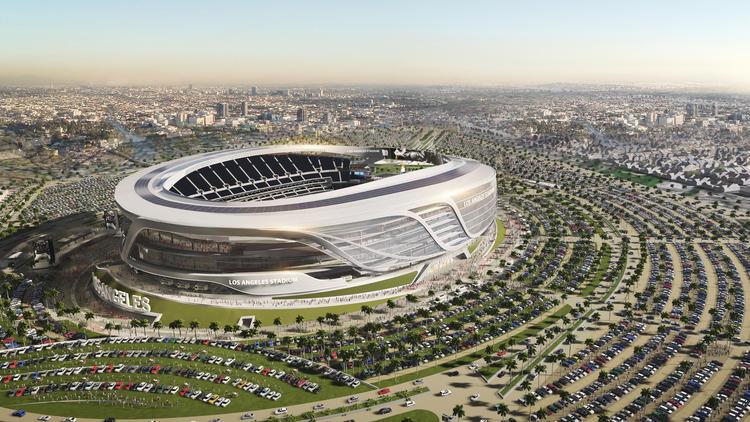 First Raiders Las Vegas Stadium Renderings Have Very