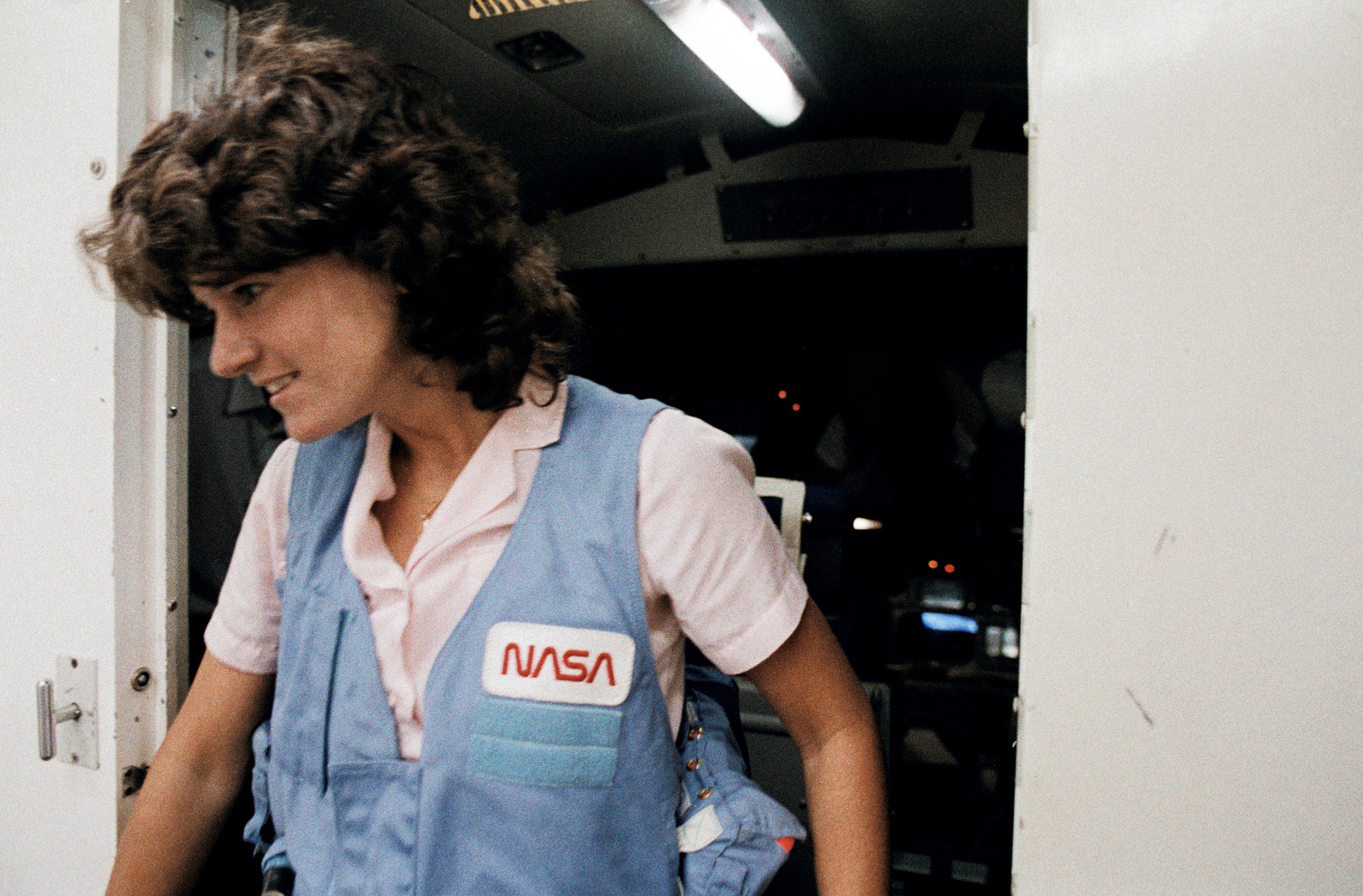 Sally Ride was the first American woman in space, but her ...