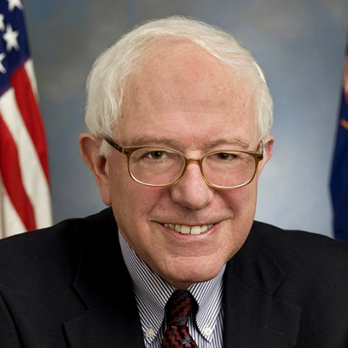 Bernie Sanders D