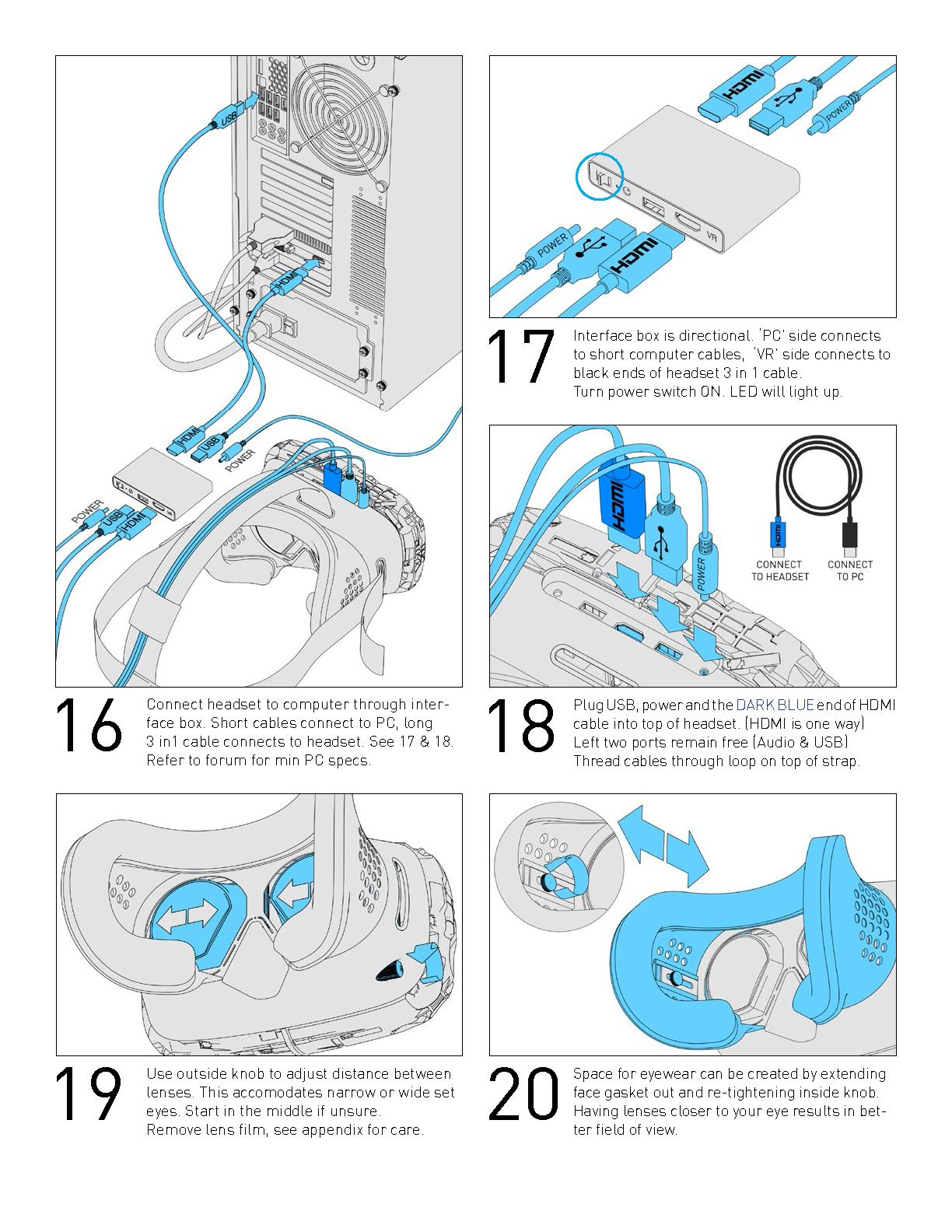 Oculus Camera Wiring Diagram Framing Antenna Side Valves Manual For The Vive Virtual Reality Dev Kit Is As Fun You On