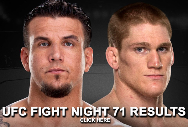 UFC Fight Night 71 Results