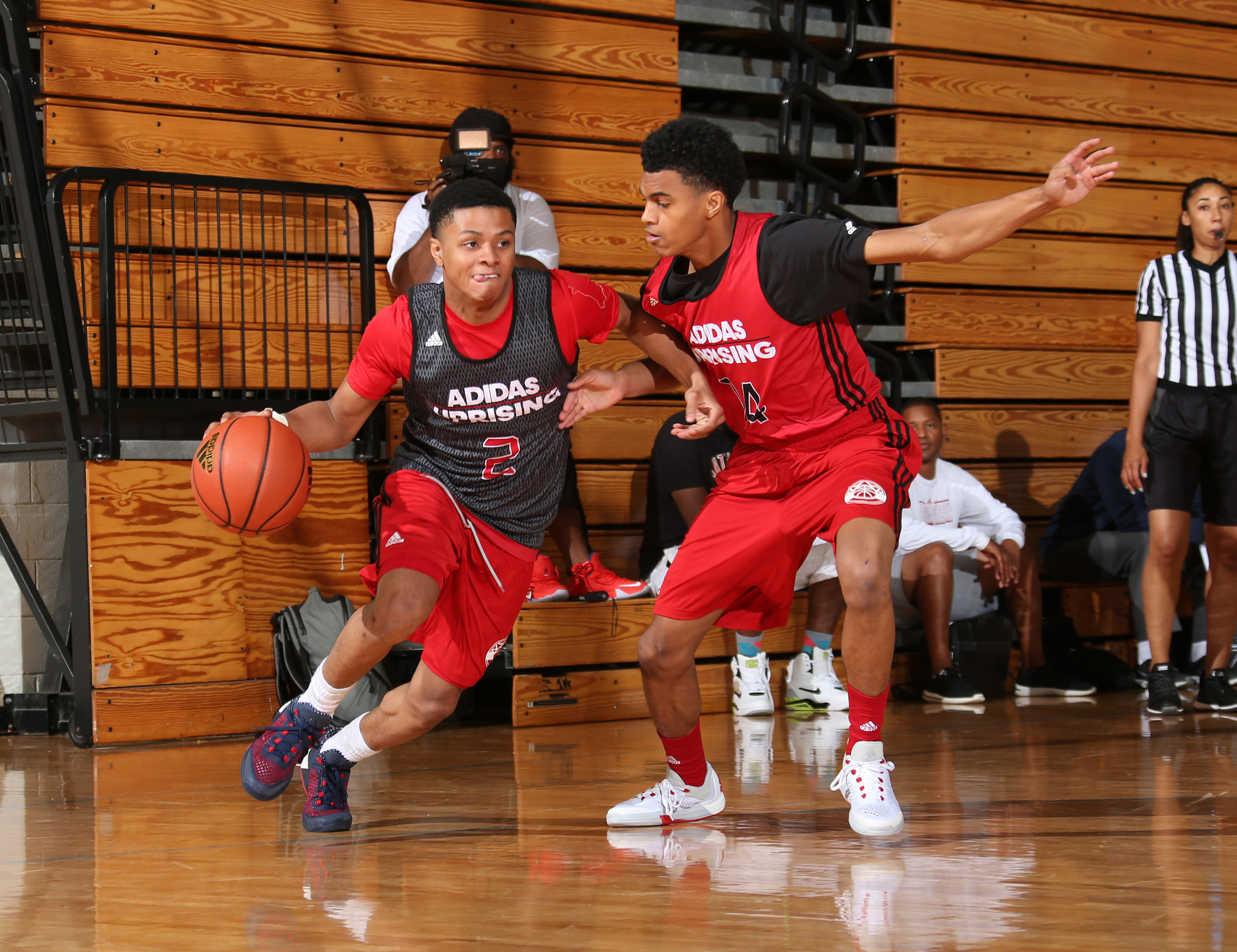 Anthony Cowan has solid showing at Adidas Uprising All-American Camp -  Testudo Times 2095443cfcce