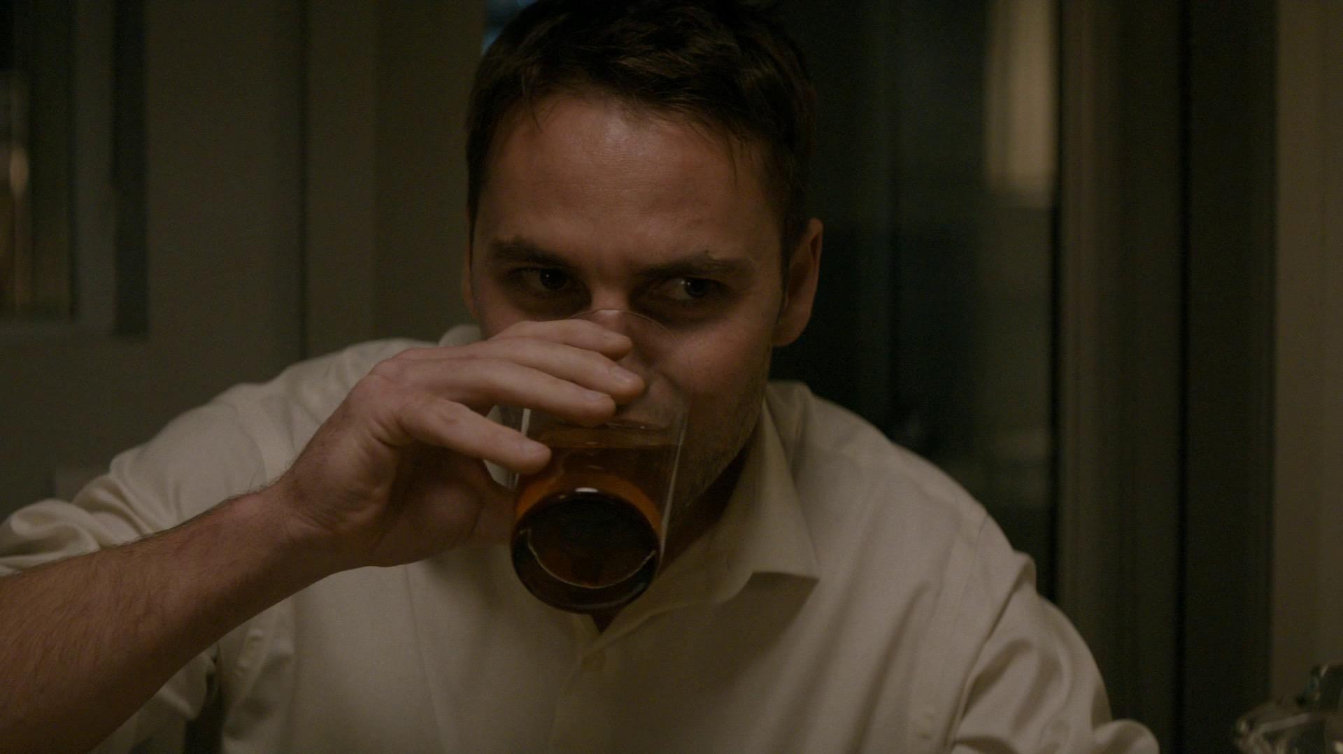Paul drinking deep