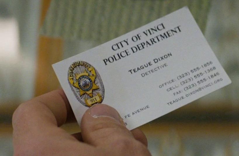 Teague Dixon's card