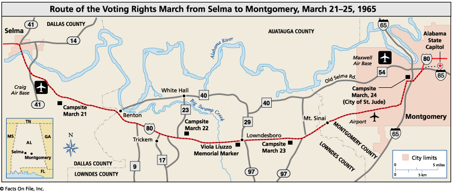 In 1965 Only 2 Percent Of African Americans In Selma Alabama Were Registered To Vote Despite Repeated Voter Registration Campaigns