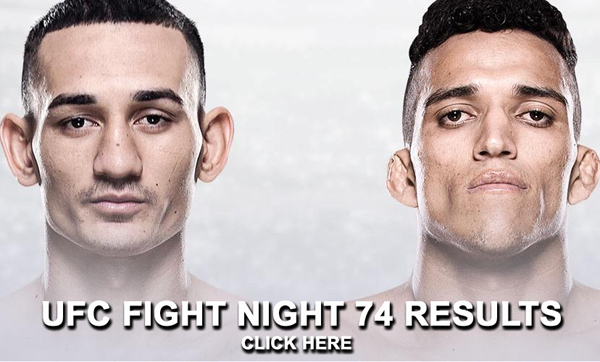 UFC Fight Night 74 Results