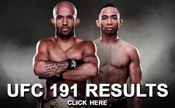 UFC 191 Results