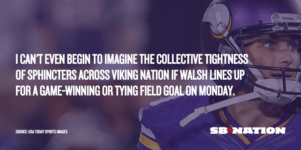 cheap Minnesota Vikings Blair Walsh Jerseys