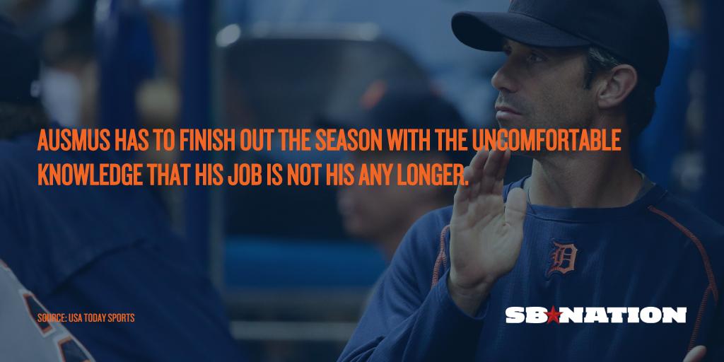 如果老虎队解雇布拉德·奥斯穆斯,他应该已经被解雇了