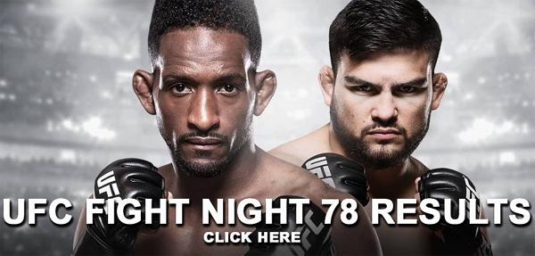 UFC Fight Night 78 Results