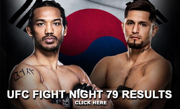 UFC Fight Night 79 Results
