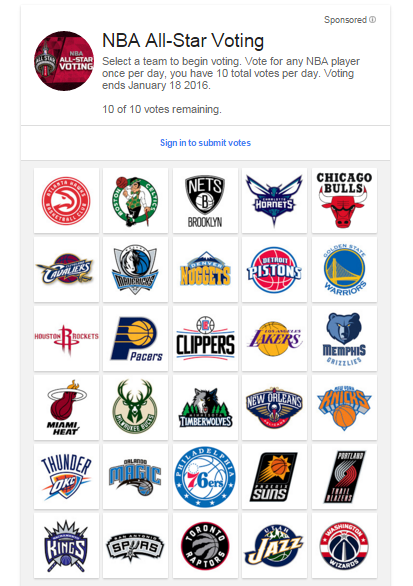 The NBA and Google are teaming up to make All-Star voting ...