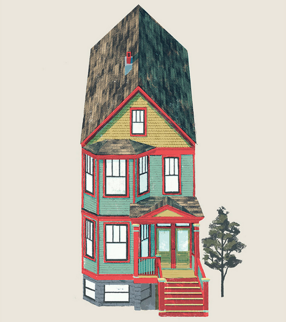 A handy guide to the most classic types of chicago houses for Styles of homes built in 1900
