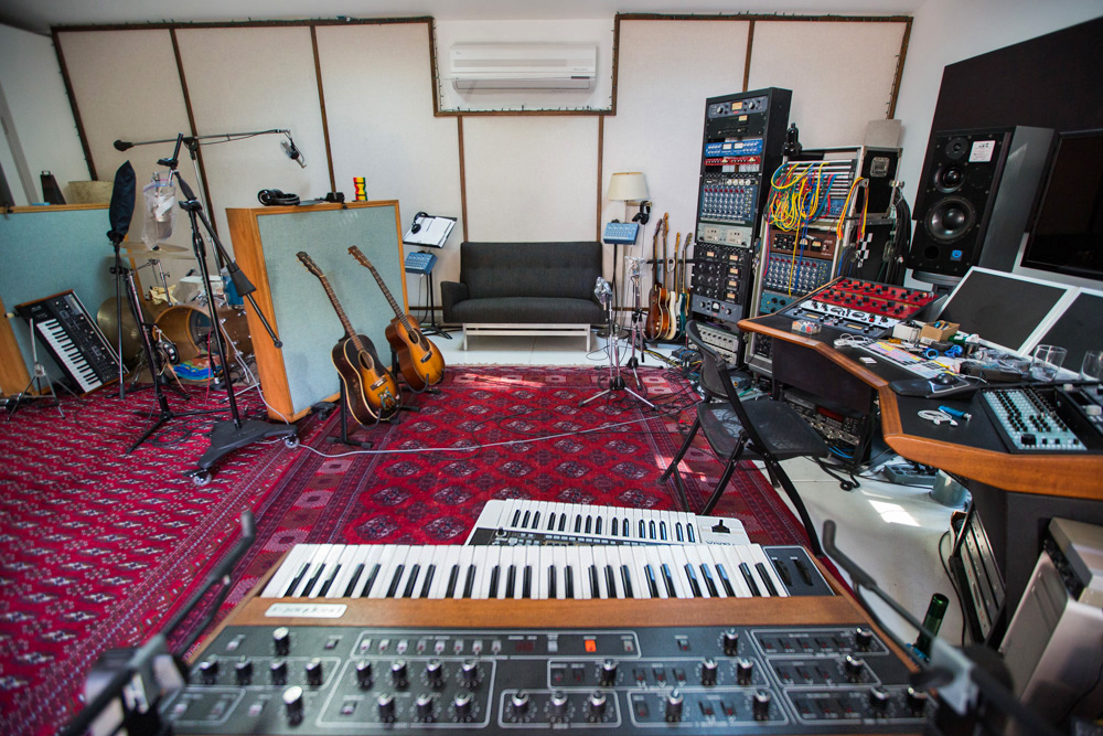 Cool Inside The Underground World Of Las Home Recording Studios Largest Home Design Picture Inspirations Pitcheantrous