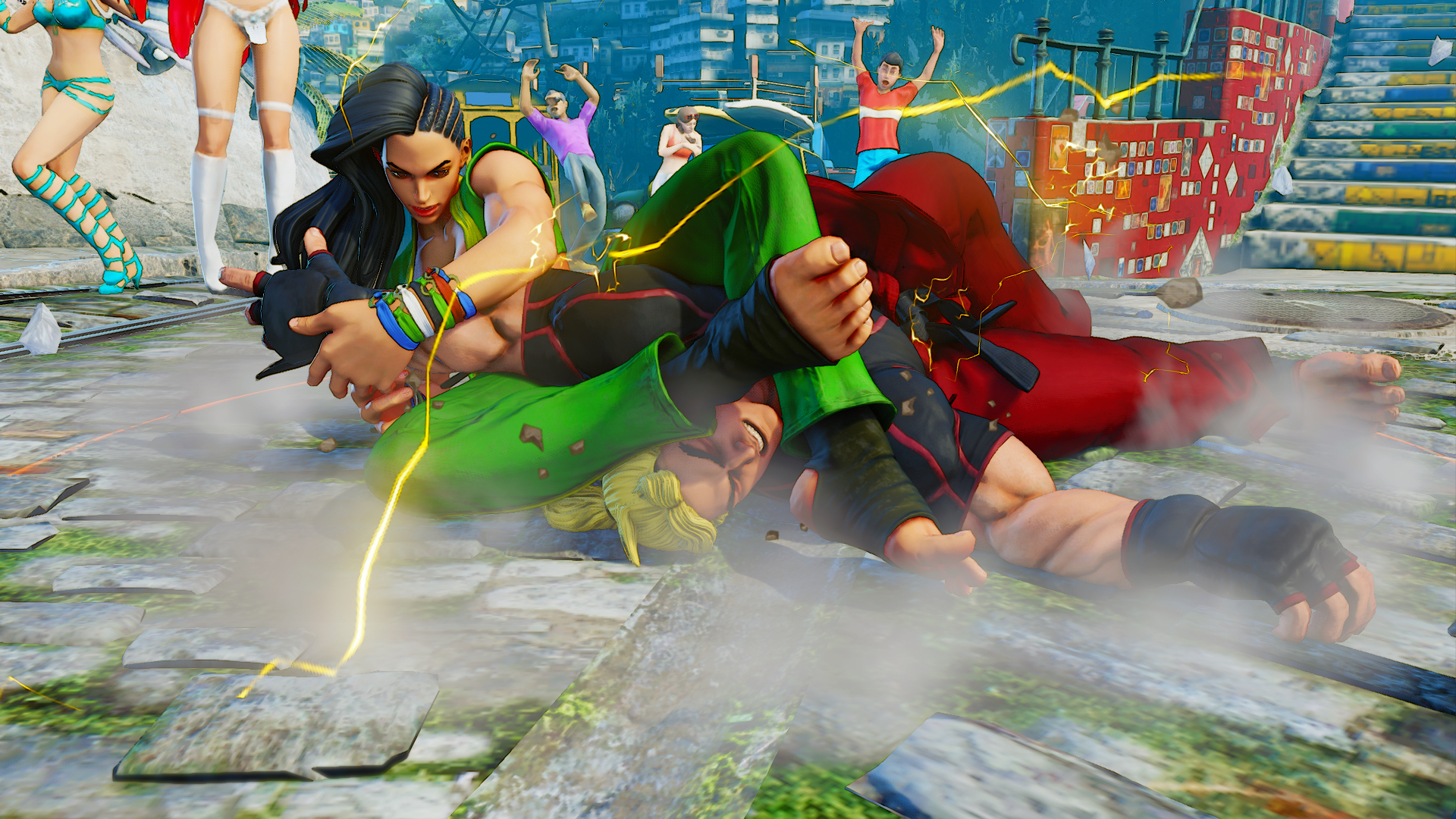 Street Fighter 5 annotated gallery | Polygon