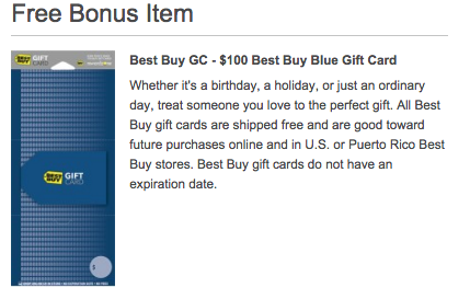 Get $100 gift card with purchase of an Xbox One at Best Buy
