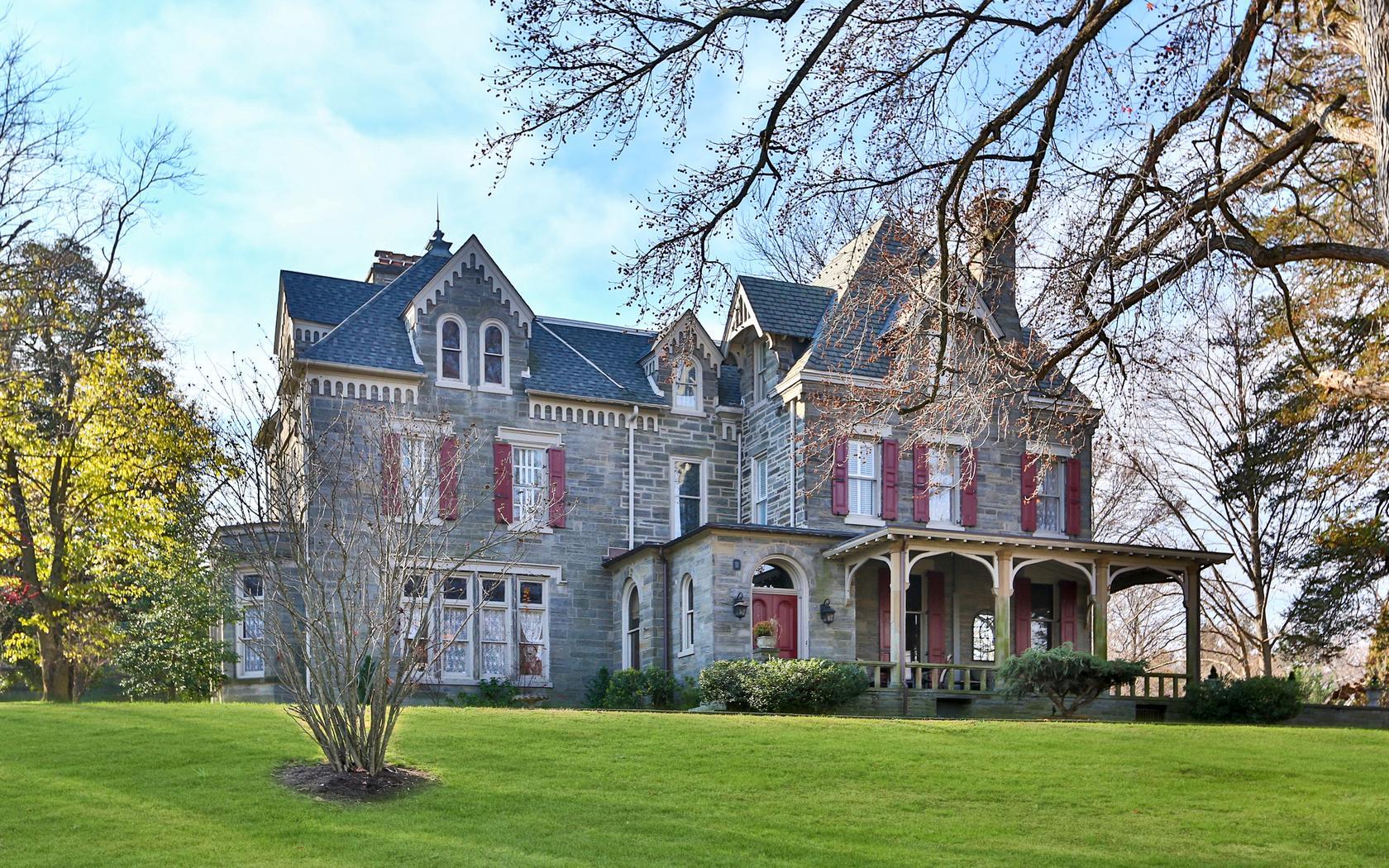 Elegant Victorian Chestnut Hill Mansion Now 195K Cheaper